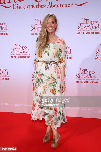 Angela FingerErben during the premiere of 'Liliane Susewind Ein tierisches Abenteuer' at Cinedom on May 6 2018 in Cologne Germany