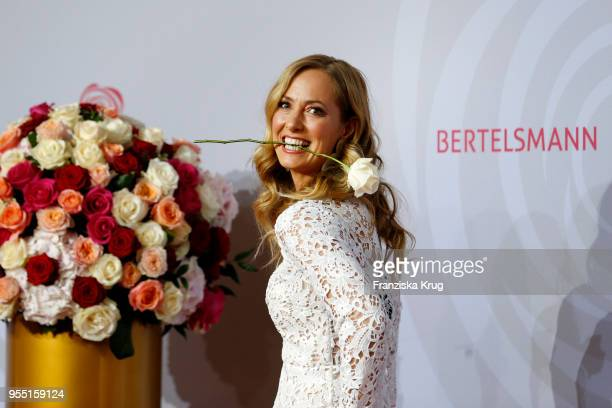 Angela FingerErben during the Rosenball charity event at Hotel Intercontinental on May 5 2018 in Berlin Germany