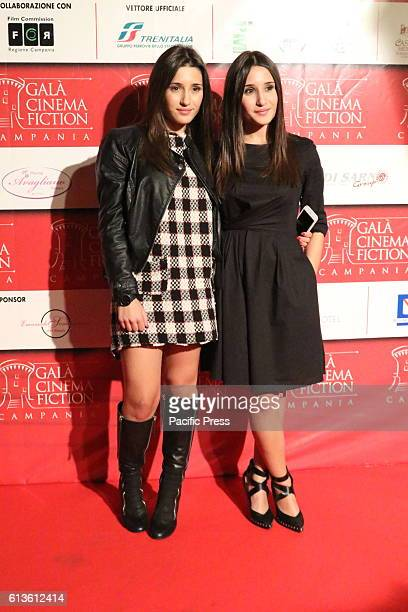 Angela Fontana and Marianna Fontana at the Eighth edition of the Gala Cinema Fiction in Campania this year is the combination of Film and Fashion...