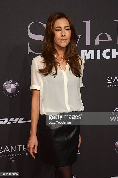 Angela Gessmann arrives for the Michalsky Style Night during MercedesBenz Fashion Week Autumn/Winter 2014/15 at Tempodrom on January 17 2014 in...