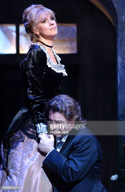 Angela Gheorghiu and Roberto Alagna in the Royal Opera production of Faust at the Royal Opera House in Covent Garden London Composer Charles Gounod