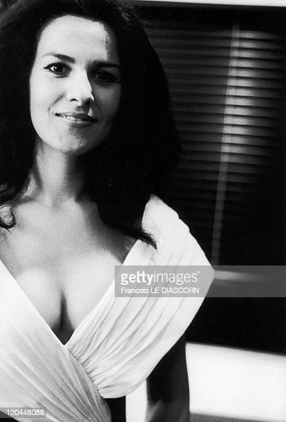 Angela Gheorghiu in Montpellier France in 1997 The singer at the Montpellier festival