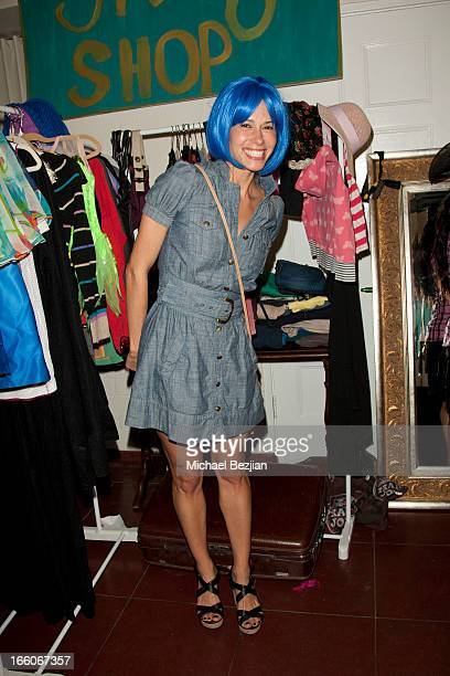 Angela Gots attends Playground Of Dreams Presents 'The Coolest Variety Show On Earth' on April 6 2013 in Los Angeles California