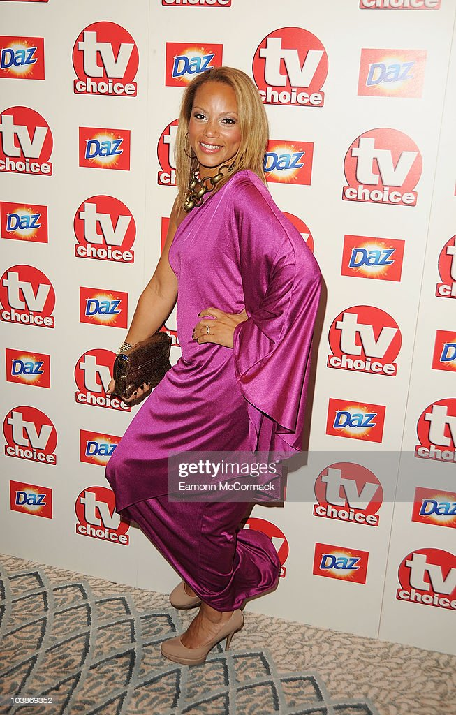 Angela Griffin arrives at the TVChoice Awards 2010 held at The Dorchester on September 6, 2010 in London, England.