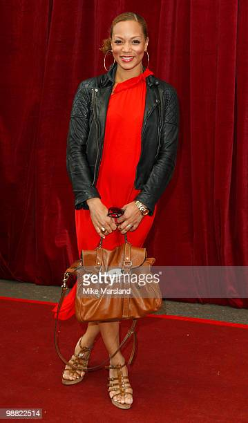 Angela Griffin attends 'An Audience With Michael Buble' at The London Studios on May 3 2010 in London England