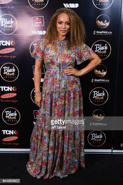 Angela Griffin attends the Black Magic Awards at Hackney Empire on September 9 2017 in London England