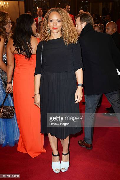 Angela Griffin attends the ITV Gala at London Palladium on November 19 2015 in London England