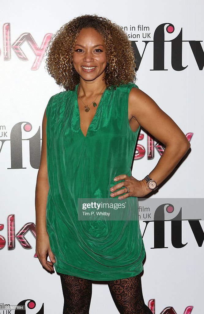 Angela Griffin attends the Women in TV & Film Awards at London Hilton on December 7, 2012 in London, England.