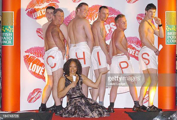 Angela Griffin during 2006 National Chip Week Press Launch and Catwalk Show at The Collection in London Great Britain