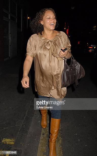 Angela Griffin during Angela Griffin Sighting in London April 5 2007 in London Great Britain