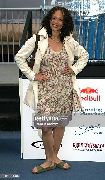 Angela Griffin during 'IceSpace' Launch Party at IceSpace in London Great Britain