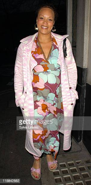 Angela Griffin during Jacqueline Gold's 'A Woman's Courage' Book Launch Party at The Ivy in London Great Britain