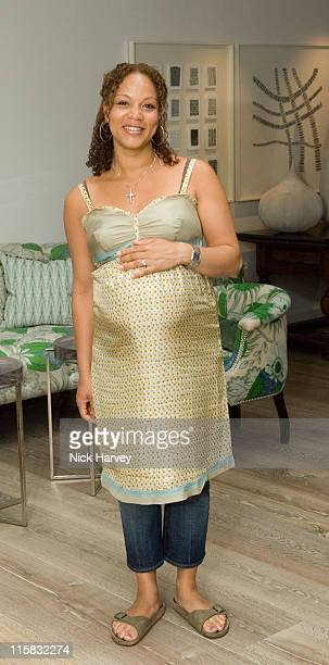 Angela Griffin during Lisa B and Crave Launch Party for Their New Collection at the Haymarket Hotel at Haymarket Hotel in London Great Britain