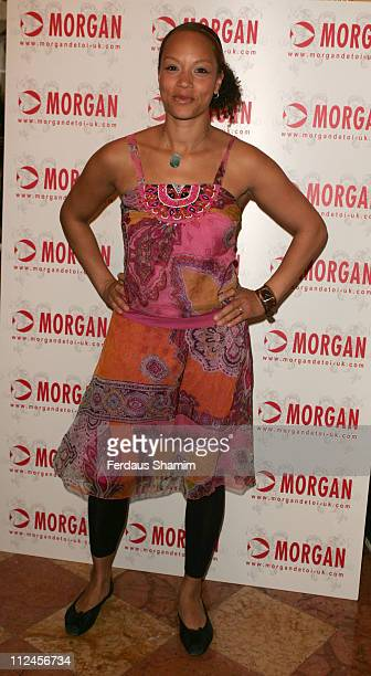 Angela Griffin during Morgan Autumn/Winter 2006 Fashion Show at Duchess Palace in London Great Britain
