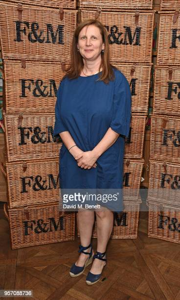 Angela Hartnett attends the Fortnum Mason Food and Drink Awards on May 10 2018 in London England