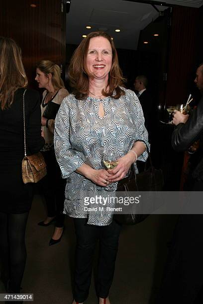 Angela Hartnett attends the GQ Food Drink Awards at The Bulgari Hotel on April 28 2015 in London England
