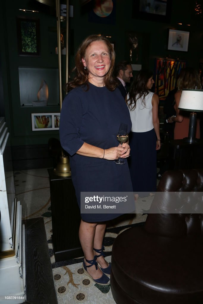 Angela Hartnett attends the launch of chef Tom Kerridge's new restaurant Kerridge's Bar & Grill at Corinthia London on September 12, 2018 in London, England.