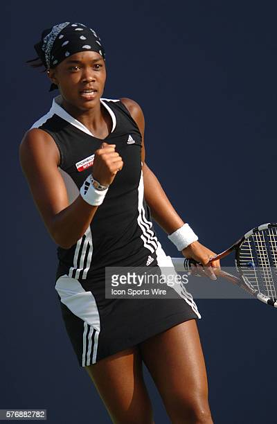 Angela Haynes during the women's doubles final of the JP Morgan Chase Open at the Home Depot Center in Carson, CA.