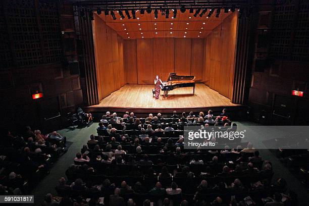 Angela Hewitt performing Bach's 'The Art of Fugue' at the 92nd Street Y on Wednesday night October 28 2015