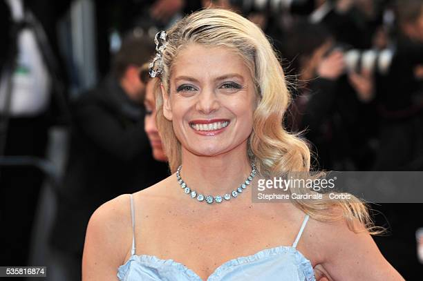 """Angela Ismailos at the premiere for """"Amour"""" during the 65th Cannes International Film Festival."""