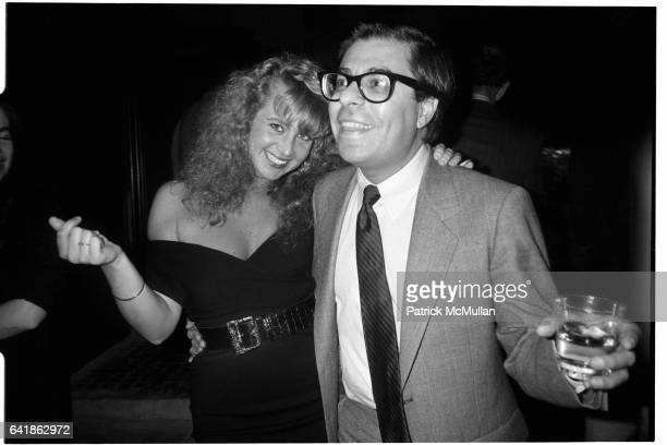 Angela Janklow and Bob Colacello at her 'Welcome Home' dinner at 40 Worth November 25 1987