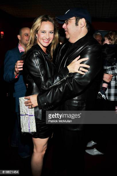 Angela Janklow and Kevin Dornan attend JEFF STEIN'S Birthday Dinner at East Side Social Club on April 1 2010 in New York City