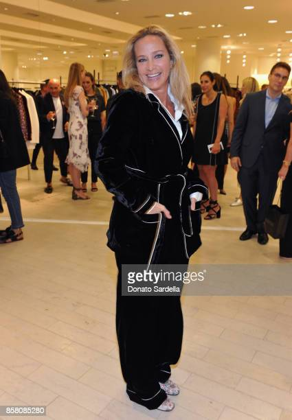 Angela Janklow attends a Cocktail Event in support of HOLA Heart of Los Angeles hosted by Barneys New York at Barneys New York Beverly Hills on...