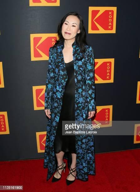 Angela Kang attends the 3rd annual Kodak Awards at Hudson Loft on February 15 2019 in Los Angeles California
