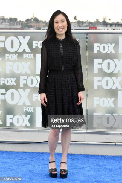 Angela Kang attends 'The Walking Dead' Photo Call during ComicCon International 2018 at Andaz San Diego on July 20 2018 in San Diego California