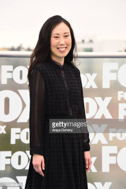 Angela Kang attends 'The Walking Dead' press line at ComicCon International 2018 on July 20 2018 in San Diego California