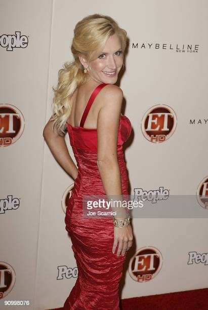 Angela Kinsey arrives at Vibiana for the 13th Annual Entertainment Tonight and People magazine Emmys After Party on September 20 2009 in Los Angeles...