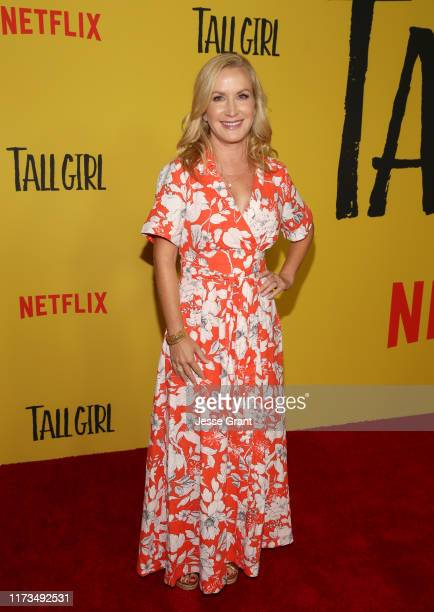 Angela Kinsey attends Netflix Tall Girl special screening at Netflix on September 09 2019 in Los Angeles California