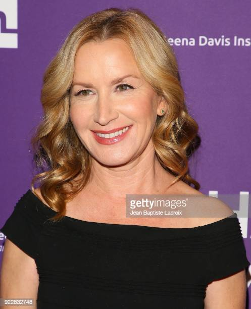 Angela Kinsey attends the premiere of Momentum Pictures' 'Half Magic' at The London West Hollywood on February 21 2018 in West Hollywood California