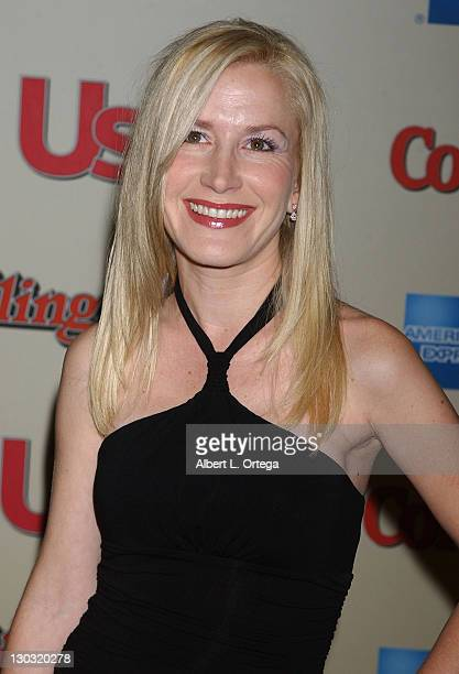 Angela Kinsey during US Magazine and Rolling Stone Rock the 2006 Oscars Arrivals at Pacific Design Center in West Hollywood California United States