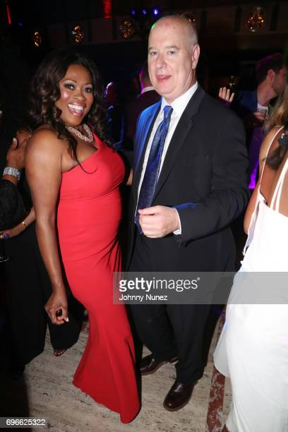 Angela Kissane and Robert Kissane attend the 2017 Ailey Spirit Gala at David H Koch Theater at Lincoln Center on June 15 2017 in New York City