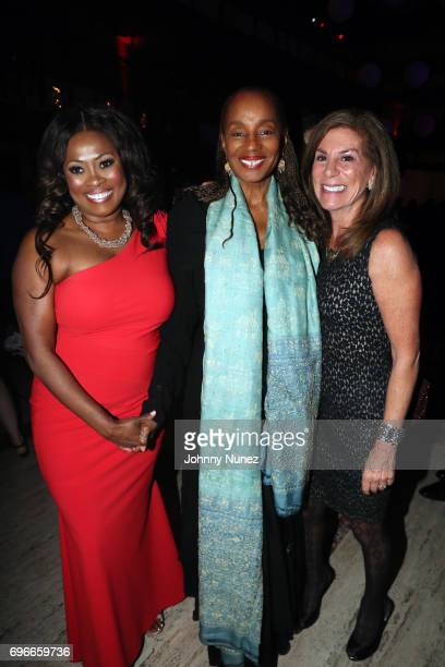 Angela Kissane and Susan L Taylor attend the 2017 Ailey Spirit Gala at David H Koch Theater at Lincoln Center on June 15 2017 in New York City