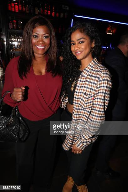 Angela Kissane and Vashtie Kola attend the New York Screening of 'The Defiant Ones' at iPic Theater on May 24 2017 in New York City