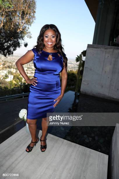 Angela Kissane attends a Def Jam Recordings Celebration for 2 Chainz Vince Staples Presented By Ciroc Vodka on June 24 2017 in Los Angeles California