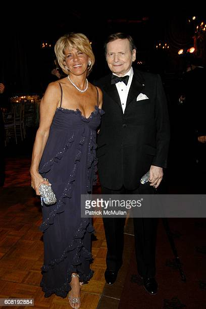 Angela Kumble and Byron Janis attend STEVEN ANGELA KUMBLE'S Wedding Celebration at Metropolitan Club on April 13 2007 in New York City