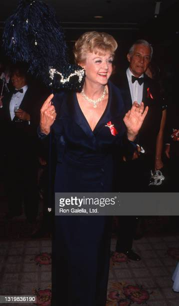 Angela Lansbury attends 37th Annual Thalians Ball at the Century Plaza Hotel in Century City, California on October 31, 1992.
