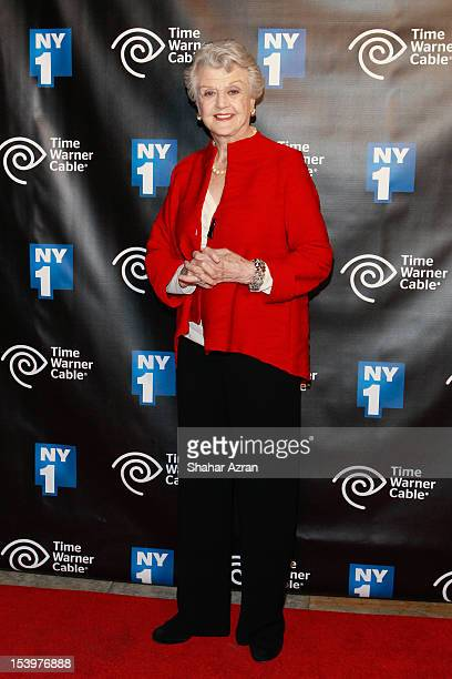 Angela Lansbury attends NY1 News 20th Anniversary Party at New York Public Library on October 11 2012 in New York City
