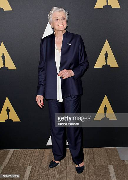 Angela Lansbury attends the 25th anniversary screening of 'Beauty And the Beast' A Marc Davis Celebration of Animationon presented by The Academy on...