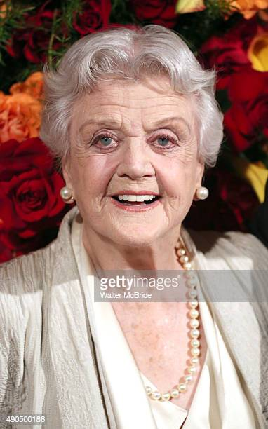 Angela Lansbury attends the American Theatre Wing honors James Earl Jones at the Plaza Hotel on September 28 2015 in New York City