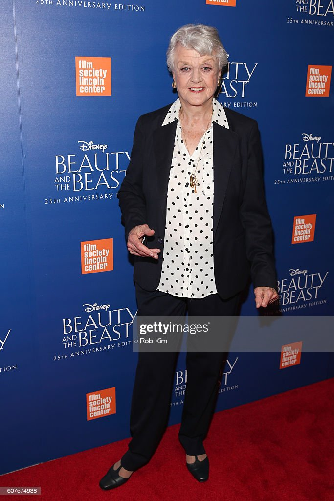 Angela Lansbury attends the 'Beauty & The Beast' 25th Anniversary Screening at Alice Tully Hall, Lincoln Center on September 18, 2016 in New York City.