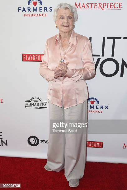 Angela Lansbury attends the Little Women FYC Reception And Panel Discussion at Linwood Dunn Theater at the Pickford Center for Motion Study on May 5...