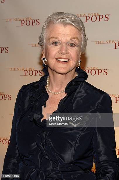 Angela Lansbury attends the New York Pops 28th Birthday Gala at The Plaza Hotel on May 2 2011 in New York City