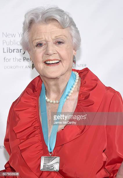 Angela Lansbury attends The New York Public Library For The Performing Arts' 50th Anniversary Gala at The New York Public Library Stephen A...