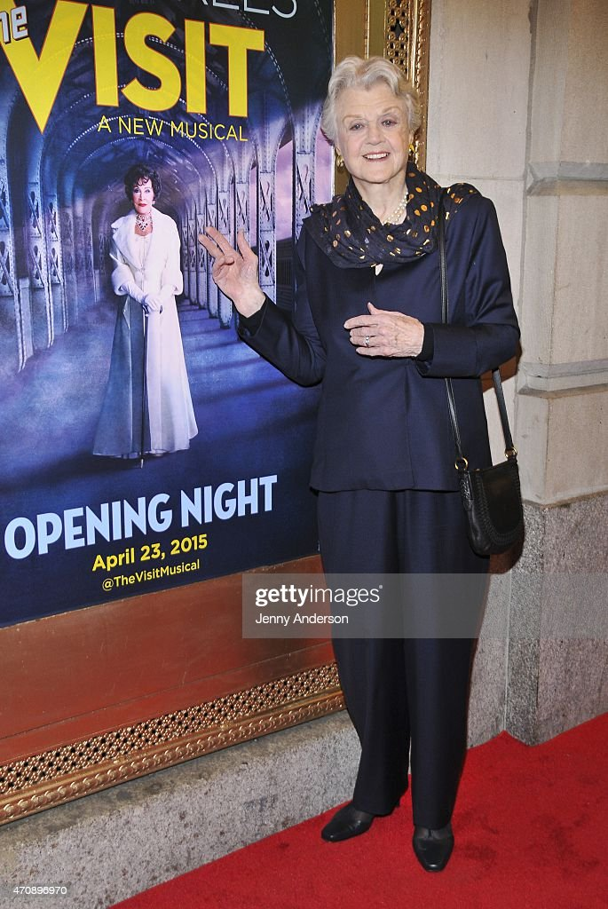 """""""The Visit"""" Broadway Opening Night - Arrivals & Curtain Call"""