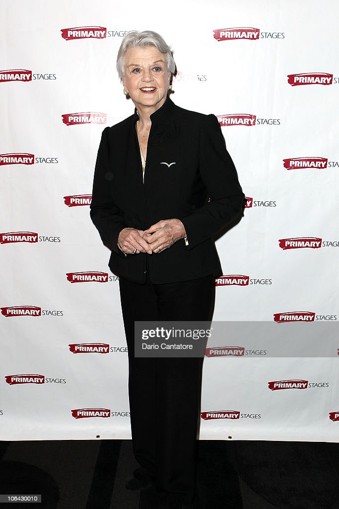 Angela Lansbury attends the Primary Stages Gala at The Edison Ballroom on November 1, 2010 in New York City.