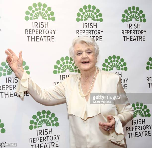 Angela Lansbury attends the 'Sondheim at Seven' 2017 Gala Benefit Production at Town Hall on June 13 2017 in New York City